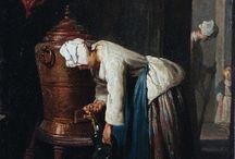 Jean Siméon Chardin (1699 - 1779) / Art from France.