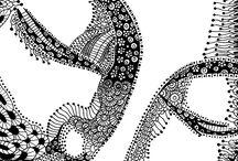 Zentangle,Doodle Art etc.