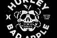 kaos hurley logo