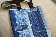 Что делать со старыми джинсами