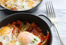 Eggs fried