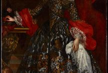 Ženy renesance a baroko 30-tiletá válka / Oblečení od pozdní renesance a baroka, období 30-tileté války