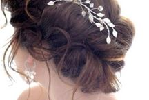 wedding hair / by Katy Resop Benway