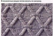 Vzory a návody pleteni