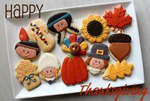 Fall/Halloween Sugar Cookies