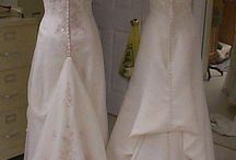 All About Bustles / different types of wedding dress bustles