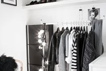 CLOSET / Walk-in-closets, shelves and clothes racks.