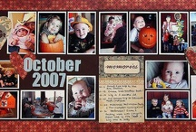 Scrapbooking - 2 page layouts / by Dana Ingram
