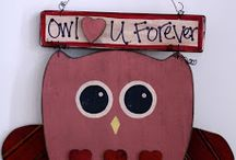 Wood painting crafts