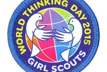 World Thinking Day / Each year on February 22, World Thinking Day, girls participate in activities and projects with global themes to honor their sister Girl Guides and Girl Scouts in other countries. World Thinking Day is part of the World Association of Girl Guides and Girl Scouts Global Action Theme (GAT) based on the United Nations' Millennium Development Goals (MDGs), which aim to improve the lives of the world's poorest people. / by Girl Scout CSA