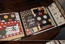 scrapbooking mini book