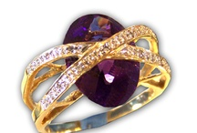 Colored Rings / Genuine gemstones, wonderful workmanship.