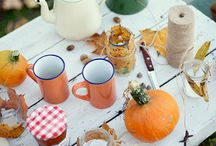 Autumn / Everything about Fall: things I like about Fall, recipes to try in the fall, decor idea for fall party (Halloween included)