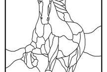 Mosaico caballo