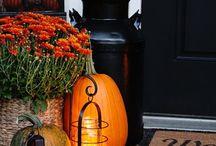 Front Door Displays - Fall / Outdoor fall decor