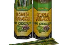 Honey Straws / Honey Straws are goodness on the go! Sealed plastic straws filled with our delicious Honey are perfect for livening up hot beverages, bagels, and muffins on the go! Or just to enjoy right out of the straw. Also our proprietary overwrap assures that each straw is always clean, fresh and ready to take anywhere.