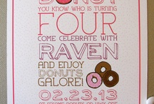 Birthday Party ideas for my girl!  / It's never to early to start brainstorming:) / by Coni Stormo