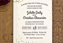 Wedding Stationery / Beautifully made and designed wedding invitations and stationery.