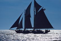 Schooner Ladona / Fresh from an extensive rebuild, the Ladona (ex. Nathaniel Bowditch) offers a windjamming experience that hearkens to her vintage pedigree as a 1922 racing yacht.