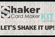 Shaker Card Maker Kits & Accessories / This board contains video intros, tutorials and projects using the Cheery Lynn Designs Shaker Card Maker Kits and Accessories.  Have you made a Shaker Card Maker card or other shaker projects?  Let us know.  We would love to showcase your project.  marketing@cheerylynndesigns.com