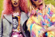 style | colored people