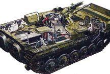 Former Sovjetunionen- Russiske Tanks.