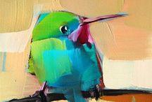 Paintings of Birds & Butterflies / Birds & Butterflies