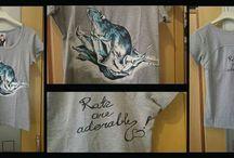 Koszulki / Nadruki na koszulki, malowidła na koszulki, thirty