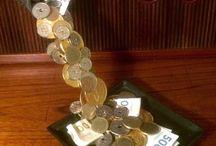 Ide til pengegaver og anderledes kort