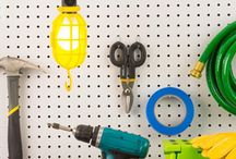 Garage Organization / From toys to tools, find design inspiration and organization solutions to help make sense of your garage.