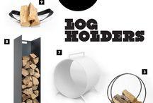 log holders