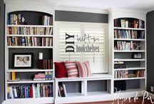 Bedroom Window Wall Bookcase