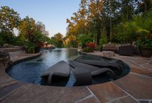 Private Pools / Some of the residential pools we've designed. Most of them are in the Kansas City metro area.
