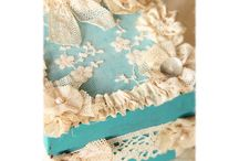 Shabby chic vintage French style
