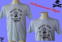 T-SHIRT MAGLIETTA  PERSONALIZZATA Micky Rocky Balboa film  boxe Training  tg M