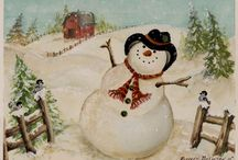 I Luv Snowmen  / by Linda Wilson