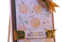 Halloween/Thanksgiving Cards / by Sue Richardson