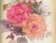 Pittura rose