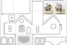 Glitter-Häuser