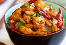 Mets asiatiques / Poulet chinois
