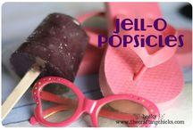 Jello popsicled