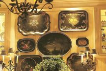 TRAY & PLATE DISPLAY INSPIRATIONS