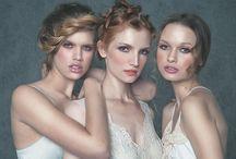 Gunn Glamour editorials / Hair and Makeup by Samantha Gunn