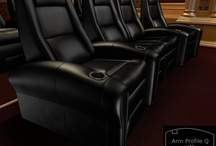 The Q Series / by Elite Home Theater Seating