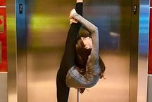 Gymnastics / Could do this once now lost it
