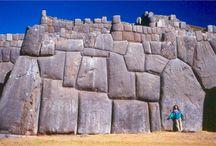 Ancient stonework ~ numerous sites