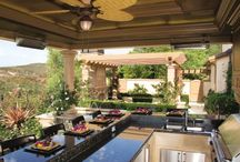 outdoor kitchen/dining/patio