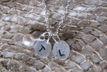 Hand stamped jewellery ideas