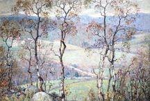 Impressionist oil paintings