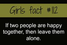 Girls facts